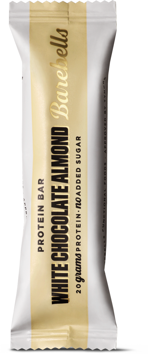 Barebells Protein Bar Biela čokoláda a mandle